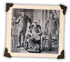 Pipers Finladter, Milne, Kidd in the Rawalpindi hospital