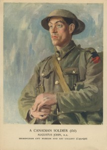 A soldier of the 16th Battalion (The Canadian Scottish).