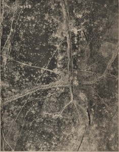 Aerial View of Regina Trench, France.