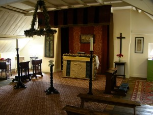 Holier Ground Than Any. The loft at Talbot House.