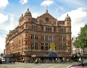 The Palace Theatre, London. Thoughts of home and the magic of performance.