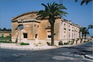 Malta. Building erected in 1915 by the Australian Branch of the Red Cross Society for the benefit of the soldiers of the Empire.