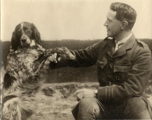 John McCrae with his dog Bonneau.