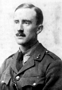 J.R.R. Tolkien in 1916. A great friend of E.V. Gordon.