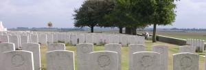 Adanac Military Cemetery. (P. Ferguson, 2009)