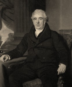 Charles Macintosh (1766-1843), Scottish Chemist,  inventor of waterproof fabric.