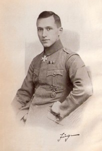 German soldier and author Ernst Junger.