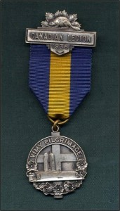 Vimy Pilgrimage Medal