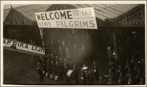 Welcome to the Vimy Pilgrims