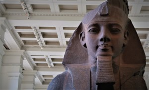 Ramses II at the British Museum.