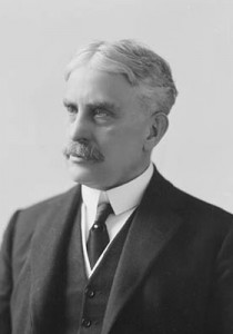 The Right Honourable Sir Robert Borden, the Canadian Prime Minister who brought conscription to Canada in 1917. (Wiki image)