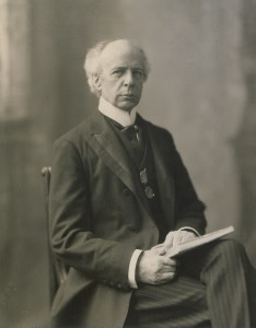 Canadian Liberal opposition leader Sir Wilfrid Laurier fought against conscription in Canada. (Wiki image)