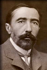 Joseph Conrad, author of Heart of Darkness, 1890. (Wiki image)
