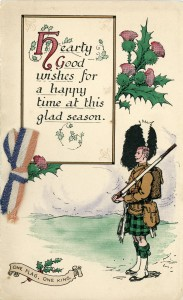 The Highlander's Christmas - 1916.