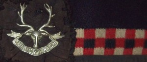 Second World War Seaforth Highlanders of Canada cap badge.