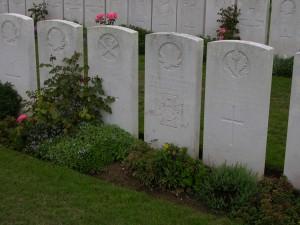 Grave of Claude Joseph Patrick Nunney VC DCM MM.