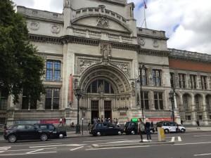 The Victoria and Albert Museum, Kensington, London. (P. Ferguson image, August 2018)