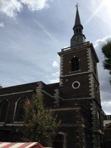St. James's Church, Piccadilly, London. (P. Ferguson image, August 2018)