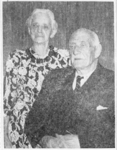 The parents of James Cleland Richardson. Mary and David Richardson of Chilliwack.