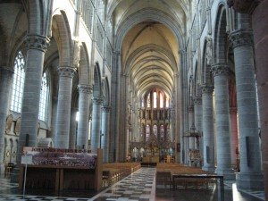 St. Martin's Cathedral, Ieper (Ypres), Belgium (P. Ferguson image, September 2010)