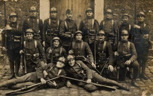 French soldiers of the Great War.