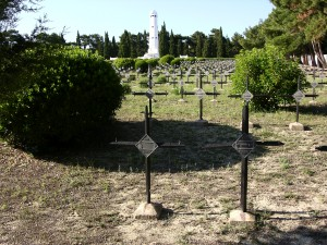French memorial and Cemetery Gallipoli.