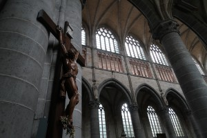 The Crucifix at St. Martin's Cathedral. (P. Ferguson image, September 2017)