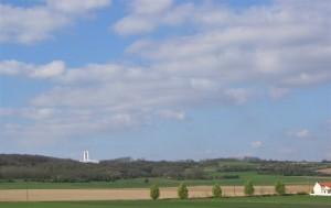 The Vimy Ridge Memorial, France.