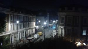 Night view of Pimlico, London.  (P. Ferguson image, 1:29 AM, November 5, 2018)
