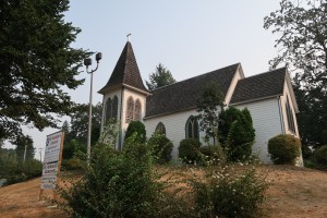 Anglican Church where Geoffrey Spicer-Simson DSO is buried.