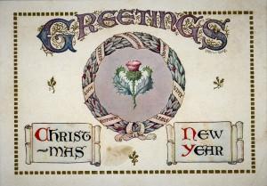 Great War Scottish postcard.