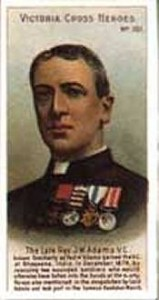 James Williams Adams VC. Afghanistan
