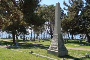 Nation Family Memorial, Ross Bay Cemetery