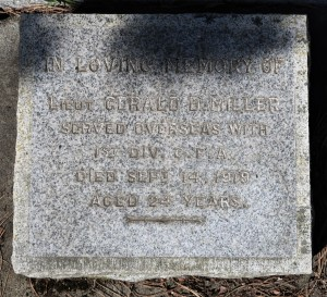 Miller Memorial