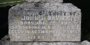 Davies Family Memorial