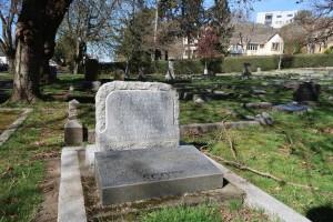 Scott Family Memorial, Ross Bay Cemetery