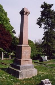 Pemberton Family Memorial, Ross Bay Cemetery