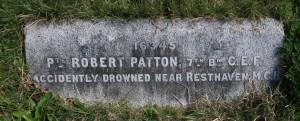 Patton Memorial, Ross Bay Cemetery