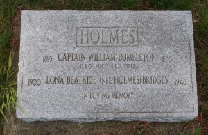 Captain William Dumbleton Holmes D.S.O., M.C.