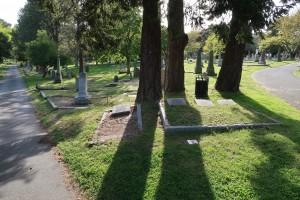 Galt Family Memorial. (P. Ferguson image, May 2019)