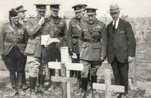 Imperial War Graves Commission, King George V, Fabian Ware