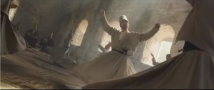 Whirling Dervish scene from  The Water Diviner (2014) featuring Arthur Connor.