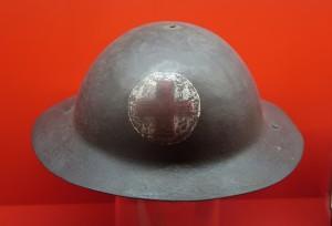 Medic's Helmet, Red Cross