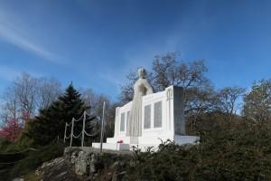 Oak Bay War Memorial, James Saull, Mother Peace, Uplands Park