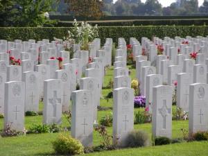 Bayeux War Cemetery, France. (P. Ferguson image, September 2009)