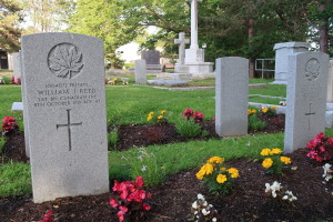 Private William J. Reed, 31st Canadian Infantry Battalion. Died 8 October 1919. (P. Ferguson image, June 2020)