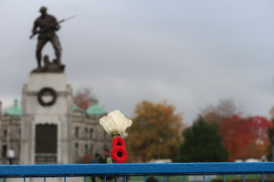 11 November 2020. The Memorial. Victoria, B.C.