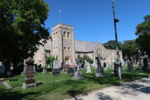 Saint John's Anglican Cathedral Cemetery, Winnipeg. (P. Ferguson image, July 2017)
