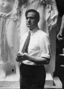 Sculptor James Earl Fraser. (Wiki Image)