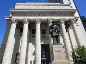 Bank of Montreal Memorial of the Great War. (P. Ferguson image July 2017)
